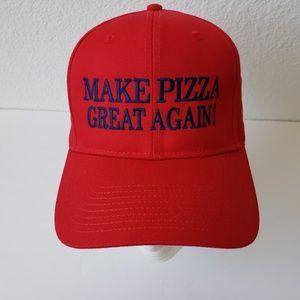 84914e543 Otto Accessories | Make Pizza Great Again Cap Embroidered | Poshmark